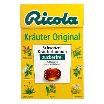 Ricola ohne Zucker Box Kräuter Bonbons