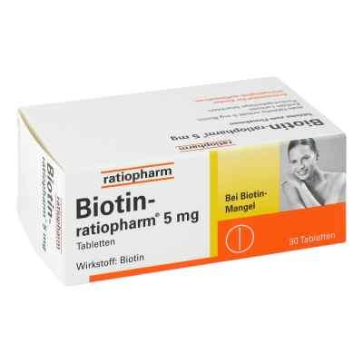 Biotin Ratiopharm 5 mg Tabletten  bei bioapotheke.de bestellen