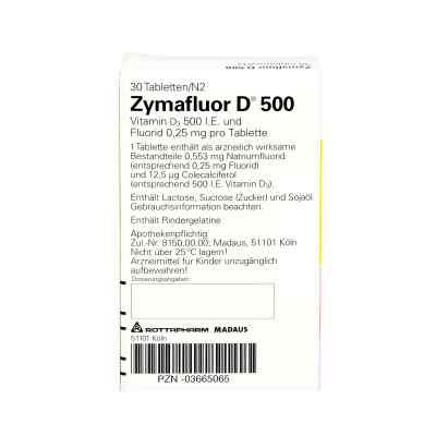 Zymafluor D 500  bei apo-discounter.de bestellen
