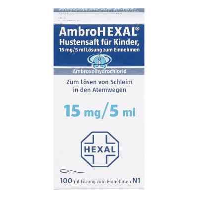 AmbroHEXAL Hustensaft für Kinder 15mg/5ml  bei apo-discounter.de bestellen