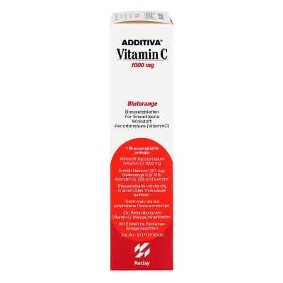 Additiva Vitamin C Blutorange Brausetabletten  bei apo-discounter.de bestellen