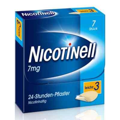 Nicotinell 7mg/24-Stunden-Nikotinpflaster, Leicht (3)  bei apo-discounter.de bestellen