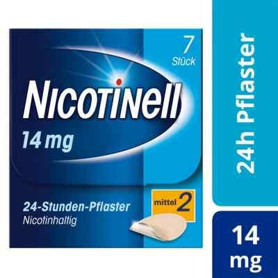 Nicotinell 14 mg (ehemals 35 mg) 24-Stunden-Pflaster  bei apo-discounter.de bestellen