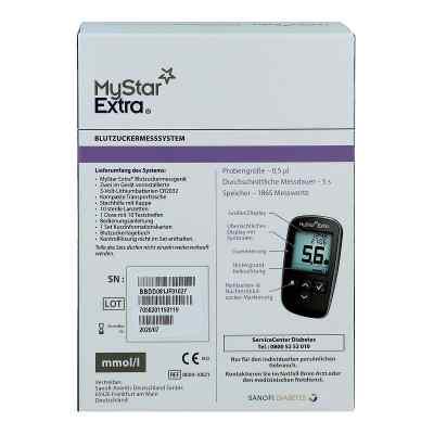 Mystar Extra Blutzuckermessgerät Set mmol/l  bei apo-discounter.de bestellen