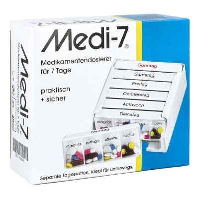 Medi 7 Medikamenten Dosierer für 7 Tage  bei apo-discounter.de bestellen