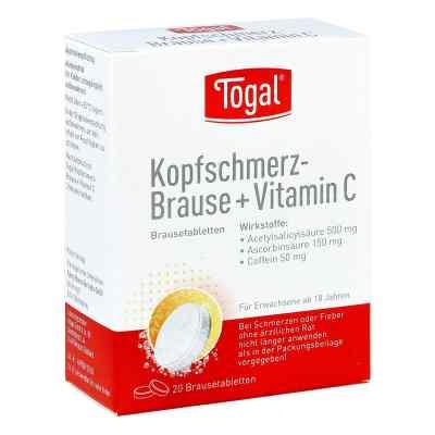 Togal Kopfschmerz-Brause+Vitamin C  bei apo-discounter.de bestellen