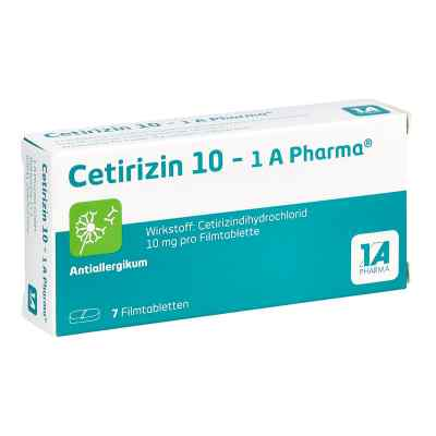 Cetirizin 10-1A Pharma  bei apo-discounter.de bestellen