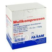 Mullkompressen 10x10 cm 8-fach steril  bei apo-discounter.de bestellen