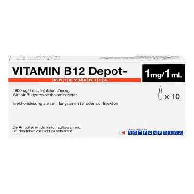 Vitamin B12 Depot Rotexmedica Injektionslösung  bei apo-discounter.de bestellen