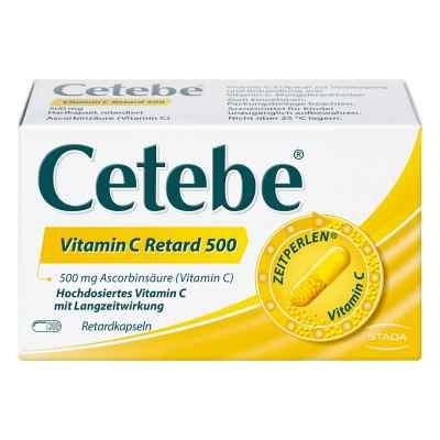 Cetebe Vitamin C Retardkapseln 500 mg bei apo-discounter.de bestellen