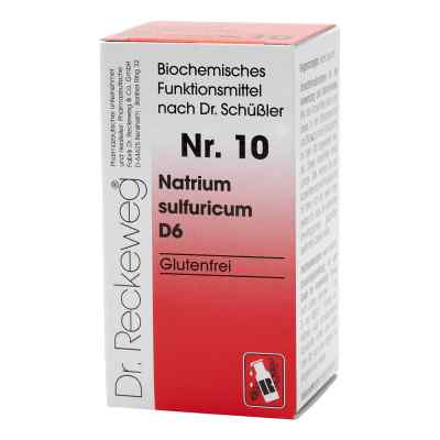 Biochemie 10 Natrium sulfuricum D6 Tabletten  bei apo-discounter.de bestellen