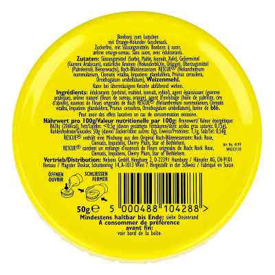 Bach Original Rescue Pastillen Orange Holunder  bei apo-discounter.de bestellen