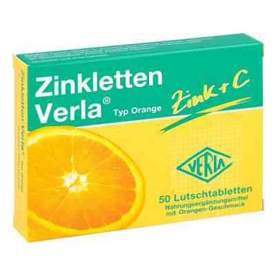 Zinkletten Verla Orange Lutschtabletten  bei bioapotheke.de bestellen