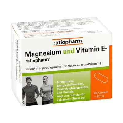 Magnesium Und Vitamin E ratiopharm Kapseln