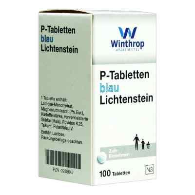 P Tabletten blau 8 mm Teilk.  bei apo-discounter.de bestellen