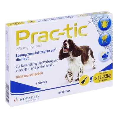 Prac tic für mittlere Hunde 11-22 kg Einzeldosispipetten   bei apo-discounter.de bestellen