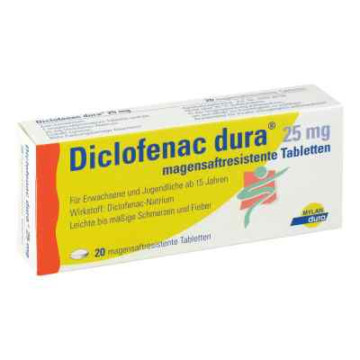 Diclofenac dura 25mg