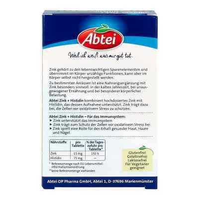 Abtei Zink+histidin Tabletten  bei apo-discounter.de bestellen