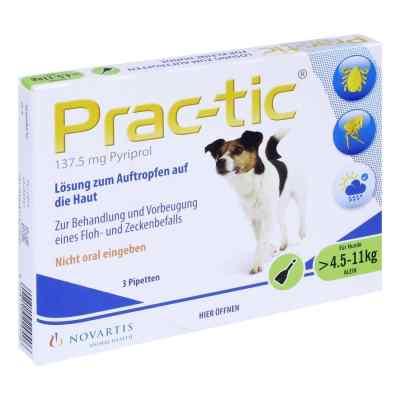 Prac tic für kleine Hunde 4,5-11 kg Einzeldosispipetten   bei apo-discounter.de bestellen