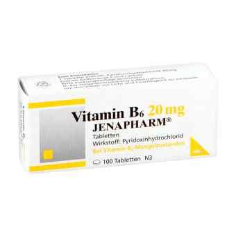 Vitamin B6 20 mg Jenapharm Tabletten  bei apo-discounter.de bestellen
