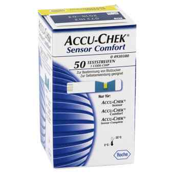 Accu Chek Sensor Comfort Plasma Teststreifen