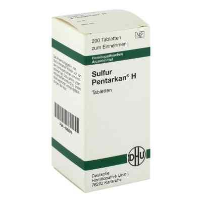 Sulfur Pentarkan H Tabletten