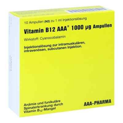 Vitamin B12 Aaa 1000 [my]g Ampullen  bei apo-discounter.de bestellen