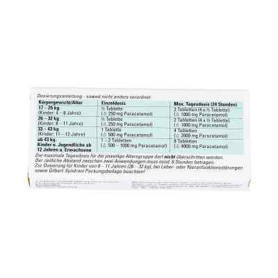 Paracetamol BC 500mg  bei apo-discounter.de bestellen