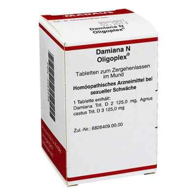 Damiana N Oligoplex Tabletten