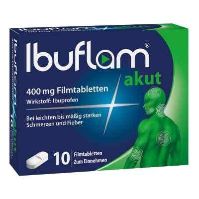 Ibuflam Akut 400 mg Ibuprofen Schmerztabletten  bei apo-discounter.de bestellen