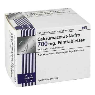 Calciumacetat Nefro 700 mg Filmtabletten  bei apo-discounter.de bestellen