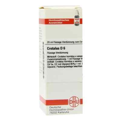 Crotalus D6 Dilution  bei apo-discounter.de bestellen