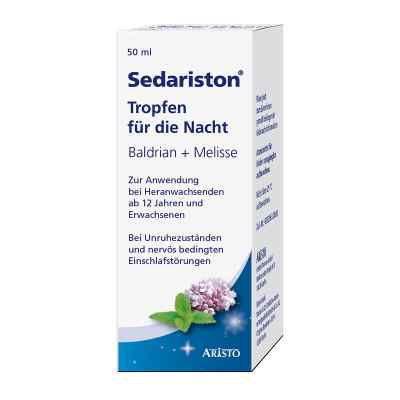 Sedariston Tropfen für die Nacht Baldrian + Melisse  bei apo-discounter.de bestellen