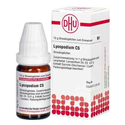 Lycopodium C 5 Globuli  bei apo-discounter.de bestellen