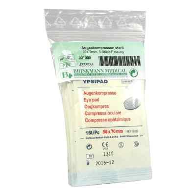 Augenkompressen steril 56x70mm  bei apo-discounter.de bestellen