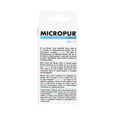 Micropur Classic Mc 1t Tabletten  bei apo-discounter.de bestellen
