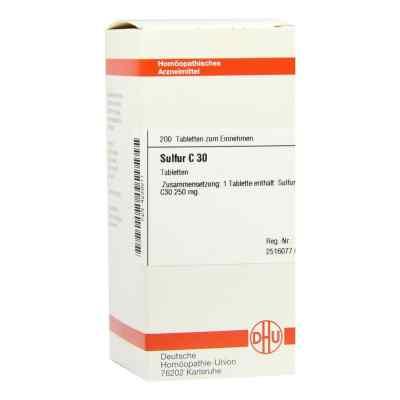 Sulfur C30 Tabletten  bei apo-discounter.de bestellen