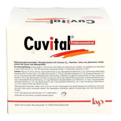 Cuvital Trinkkonzentrat  bei apo-discounter.de bestellen