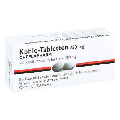 Kohle-Tabletten 250mg  bei apo-discounter.de bestellen