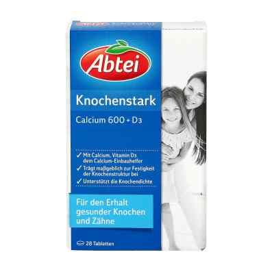 Abtei Knochenstark Calcium 600+d3 Tabletten  bei apo-discounter.de bestellen