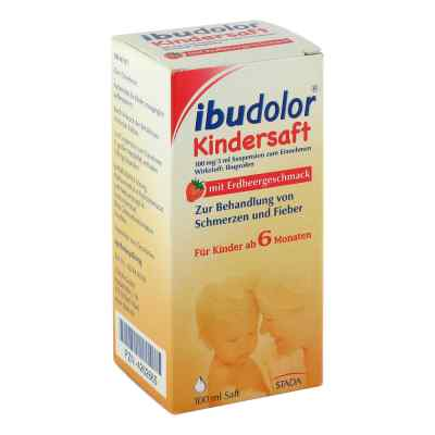 Ibudolor Kindersaft 100mg/5ml Suspension zur, zum Einn.