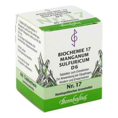 Biochemie 17 Manganum sulfuricum D6 Tabletten  bei apo-discounter.de bestellen