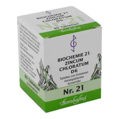 Biochemie 21 Zincum chloratum D6 Tabletten  bei apo-discounter.de bestellen
