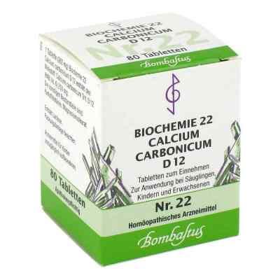 Biochemie 22 Calcium carbonicum D12 Tabletten  bei apo-discounter.de bestellen