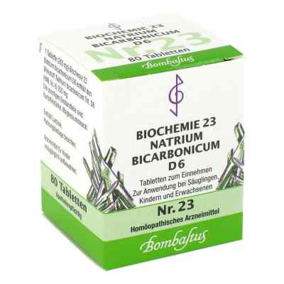 Biochemie 23 Natrium bicarbonicum D6 Tabletten  bei apo-discounter.de bestellen