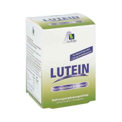 Lutein Kapseln 6 mg + Heidelbeer  bei apo-discounter.de bestellen