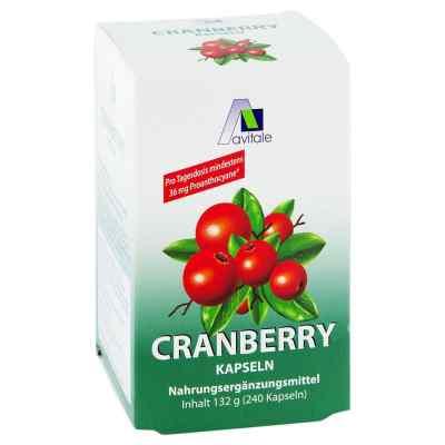 Cranberry Kapseln 400 mg  bei bioapotheke.de bestellen