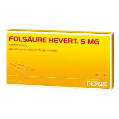 Folsäure Hevert 5 mg Ampullen  bei apo-discounter.de bestellen