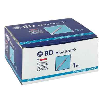 Bd Micro-fine+ U 40 Ins.spr. 12,7 mm  bei apo-discounter.de bestellen