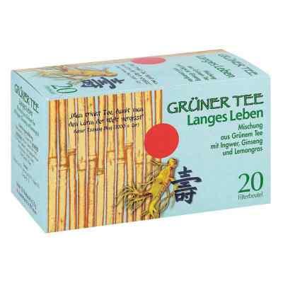 Grüner Tee + Ingwer + Ginseng Filterbeutel  bei apo-discounter.de bestellen